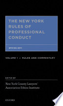The New York Rules of Professional Conduct