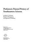Prehistoric Painted Pottery of Southeastern Arizona