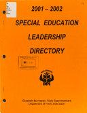 Special Education Leadership Directory