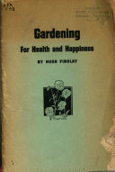 Gardening for Health and Happiness Book PDF