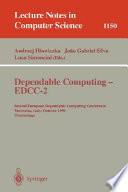 Dependable Computing Edcc 2