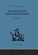 Pdf Discussions on Child Development Telecharger