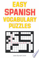Easy Spanish Vocabulary Puzzles