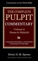 The Pulpit Commentary, Volume 6 Pdf/ePub eBook