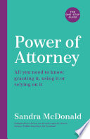 Power of Attorney  The One Stop Guide Book
