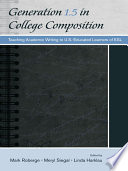 Generation 1 5 in College Composition