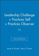 Leadership Challenge 6e   Practices 5e Self   Practices 5e Observer Set