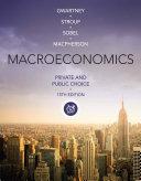 Macroeconomics  Private and Public Choice