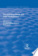 The Changing Family And Child Development