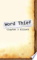 Word Thief Book PDF