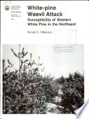 White-pine weevil attack susceptibility of western white pine in the Northeast