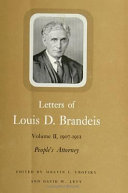 Letters of Louis D  Brandeis  1916 1921  Mr  Justice Brandeis