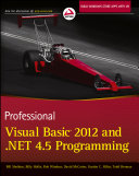 Professional Visual Basic 2012 and  NET 4 5 Programming