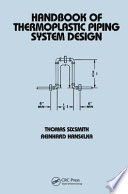 Handbook Of Thermoplastic Piping System Design Book PDF