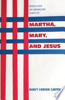 Martha  Mary  and Jesus