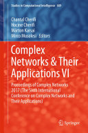 Complex Networks   Their Applications VI