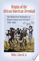 Origins Of The African American Jeremiad PDF