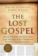 The Lost Gospel Pdf/ePub eBook