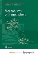 Mechanisms of Transcription Book