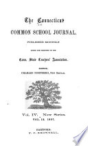 The Connecticut Common School Journal Book