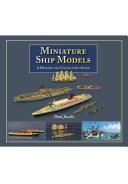 Pdf Miniature Ship Models