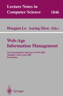 Web Age Information Management