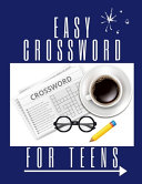 Easy Crossword For Teens