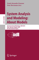 System Analysis and Modeling  About Models