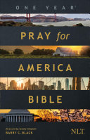 The One Year Pray for America Bible NLT  Softcover
