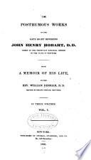 The Posthumous Works of the Late Right Reverend John Henry Hobart ...
