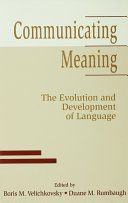 Communicating Meaning