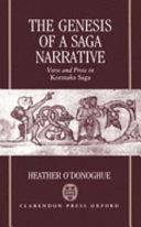 The Genesis of a Saga Narrative