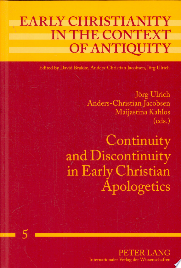 Continuity and Discontinuity in Ear