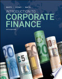 Introduction To Corporate Finance PDF