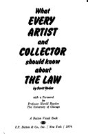 What Every Artist And Collector Should Know About The Law