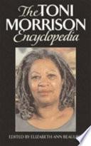 The Toni Morrison Encyclopedia Book