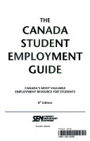 Canada Student Employment Guide, 2002-04