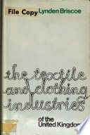The Textile and Clothing Industries of the United Kingdom