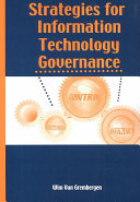 Strategies for Information Technology Governance Book