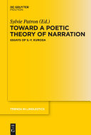 Toward a Poetic Theory of Narration