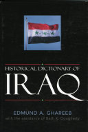 Historical Dictionary of Iraq ebook