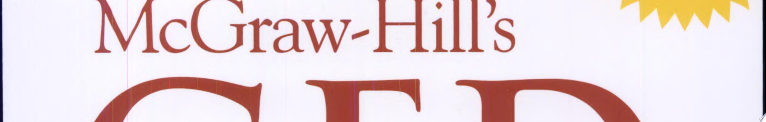 McGraw Hill s GED Mathematics