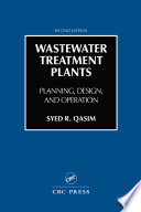 Wastewater Treatment Plants Book