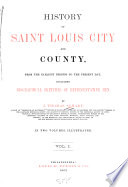 History Of Saint Louis City And County