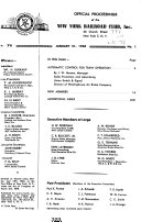 Official Proceedings of the New York Railroad Club