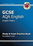 GCSE AGA English Literature Anthology