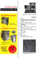 British Welding Journal Book