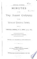 Minutes of the Troy Annual Conference