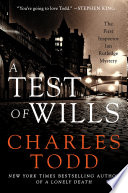 A Test of Wills Charles Todd Cover