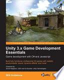 Unity 3 x Game Development Essentials